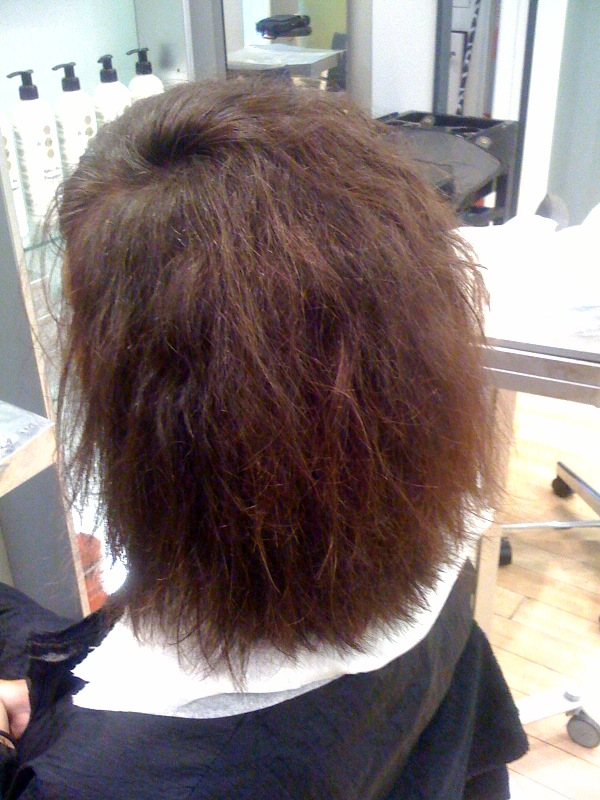Nanokeratin System at Hair Advice Centre - Before